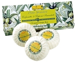 Box Plisse Wrapped Soaps 3 x 100g
